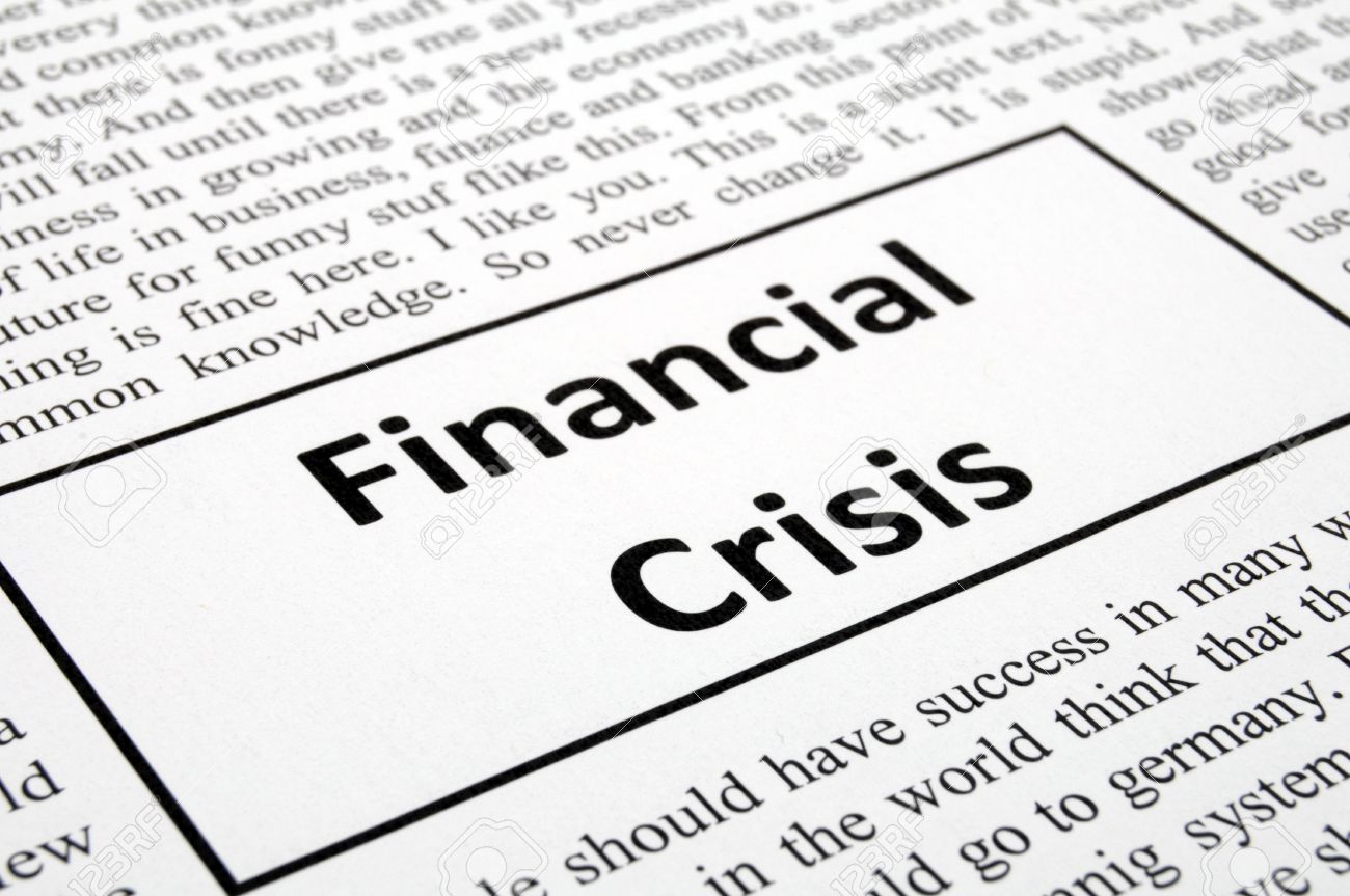 financial meltdown The 2008 financial crisis is the worst economic disaster since the great depression unless you understand its true causes, it could happen again.