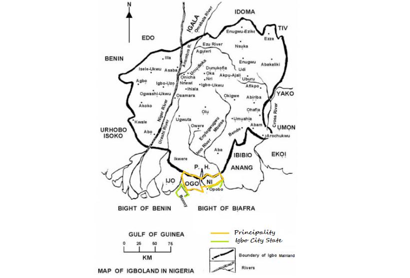 The map of new Biafra | Pambazuka News