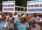Cameroon demonstration in support of separation of Angolphone regions