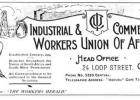 South African Industrial and Commerical Workers Union during the 1920s.