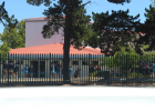 For illustration: A picture of school in South Africa