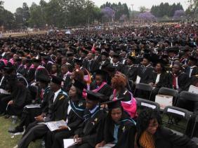 2017 graduation at the University of Zimbabwe