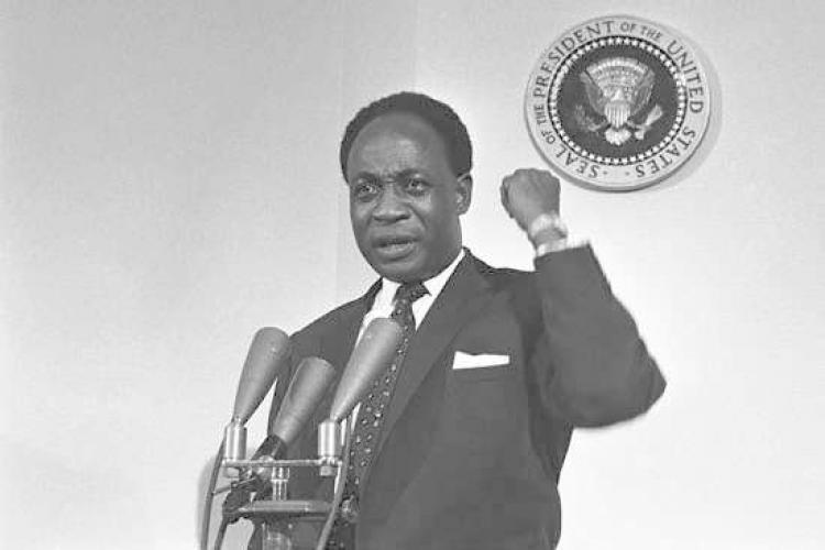 kwame nkrumahs speech Kwame nkrumah: kwame nkrumah, ghanaian nationalist leader who led the gold coast's drive for independence from britain and presided over its.
