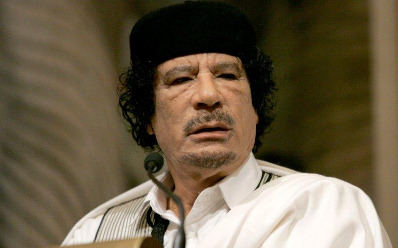 Image result for gaddafi lecture rome
