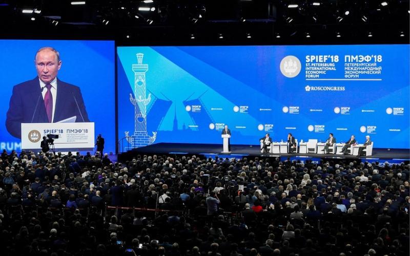 Saint Petersburg International Economic Forum 2019