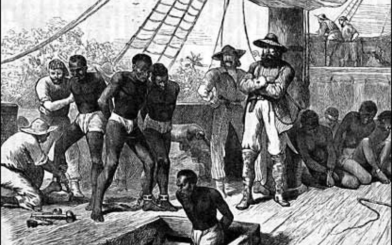 Africans arrive in Jamestown Settlement in August 1619
