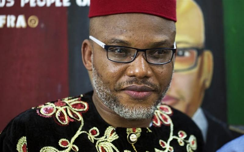 Nnamdi Kanu, is the leader of the group known as the Indigenous People of Biafra