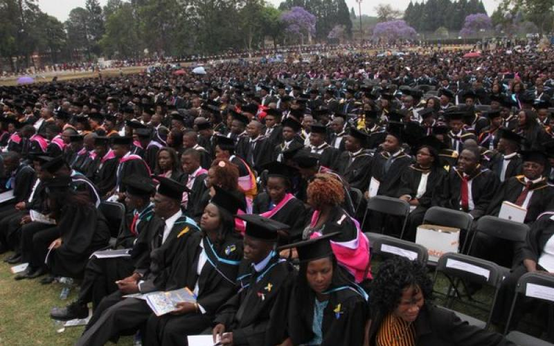 2017 graduation at the University of Zimbabwe