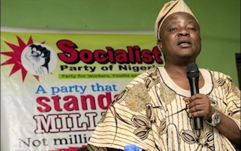 Segun Sango, Chairman Socialist Party of Nigeria