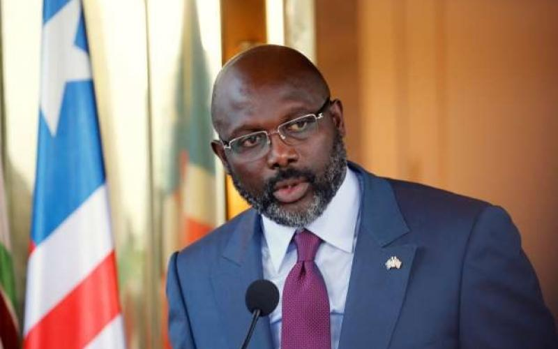 Liberian President George Manneh Weah
