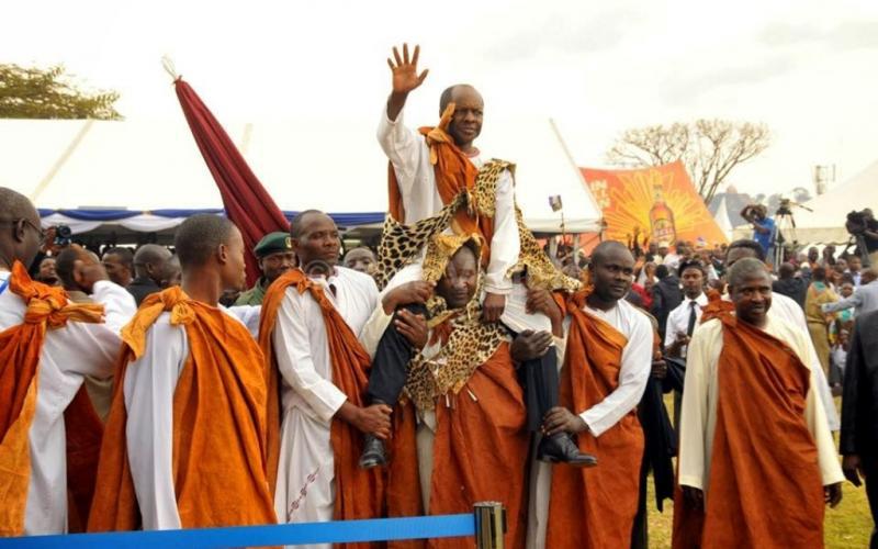 The Baganda people