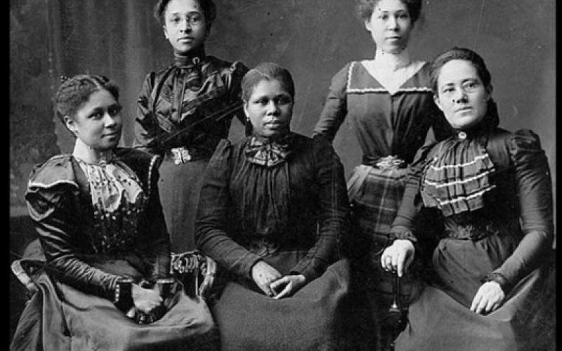 Women Suffrage movement organisers