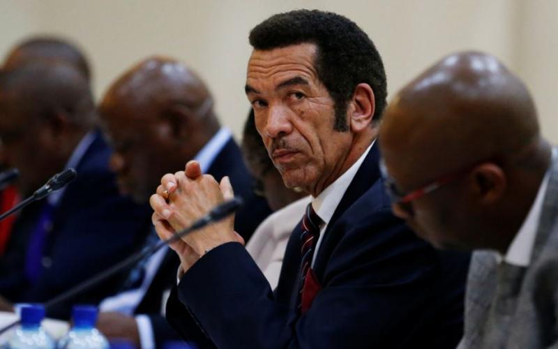 """Résultat de recherche d'images pour """"botswana, president Ian Khama, african union"""""""