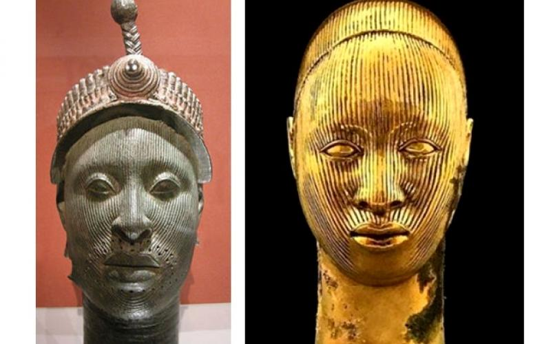 Can an English artist use classical Nigerian art as he likes