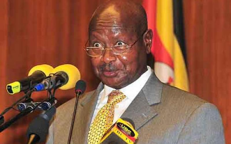 Resultado de imagen para Yoweri Museveni