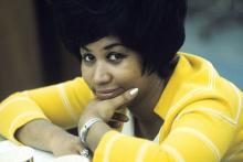 Aretha Franklin in her younger years