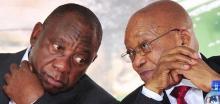 Ramaphosa and Zuma