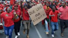 Protest movements in South Africa