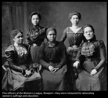 Women Suffrage movement organisers