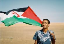 A Saharawi man